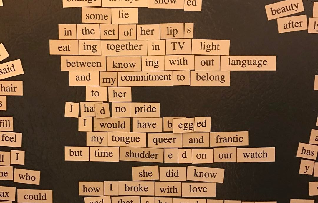 Magnetic Poetry 2/11/17